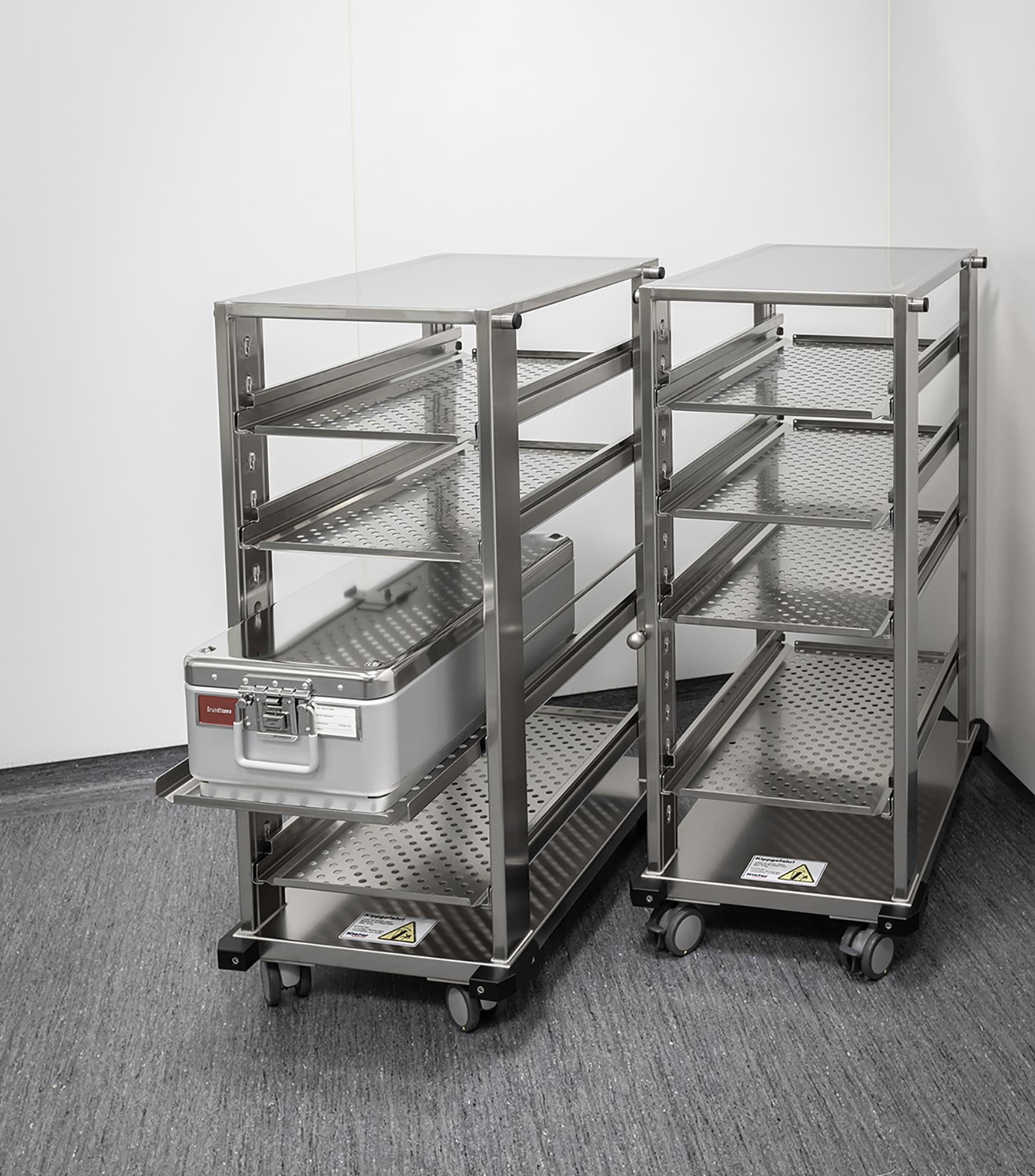 Reinraum-Transportmobiliar von Kiefer technic