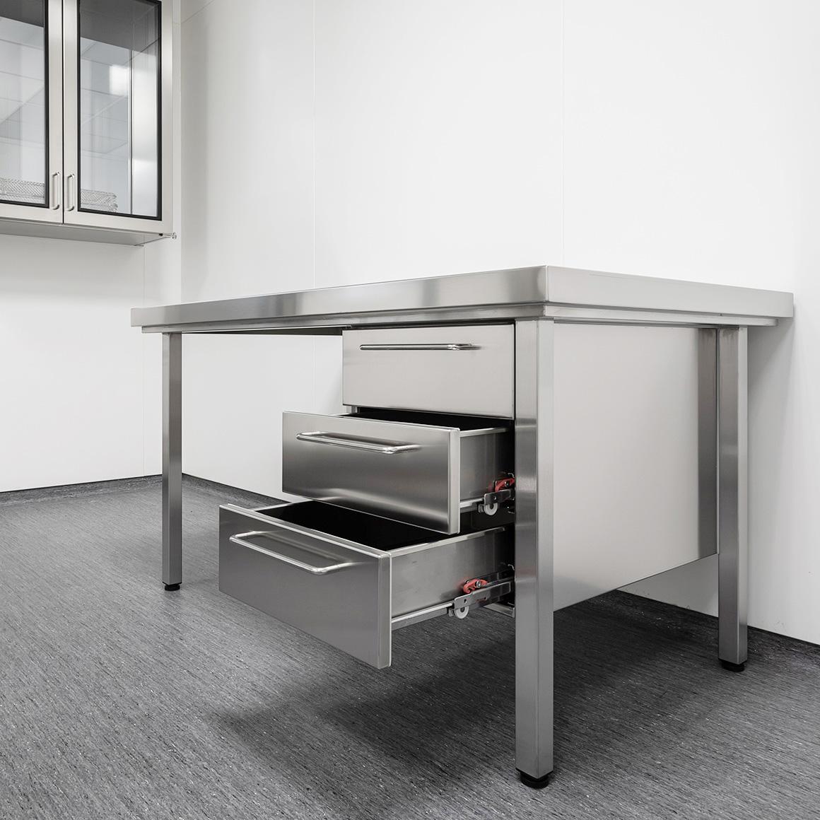 Reinraum-Tische von Kiefer technic